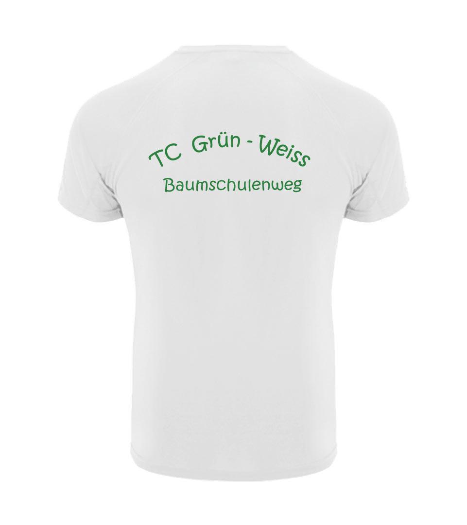 20) Funktionsshirt / Herren - Rückseite