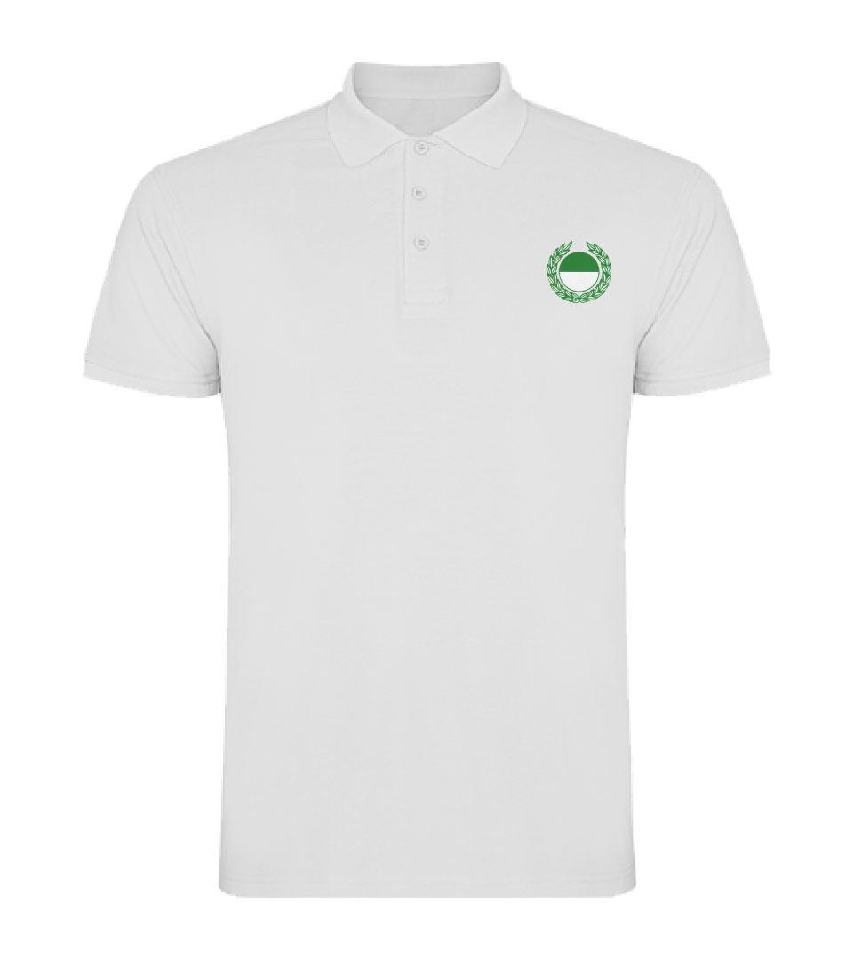 21) Polo - Shirt / Herren weiss