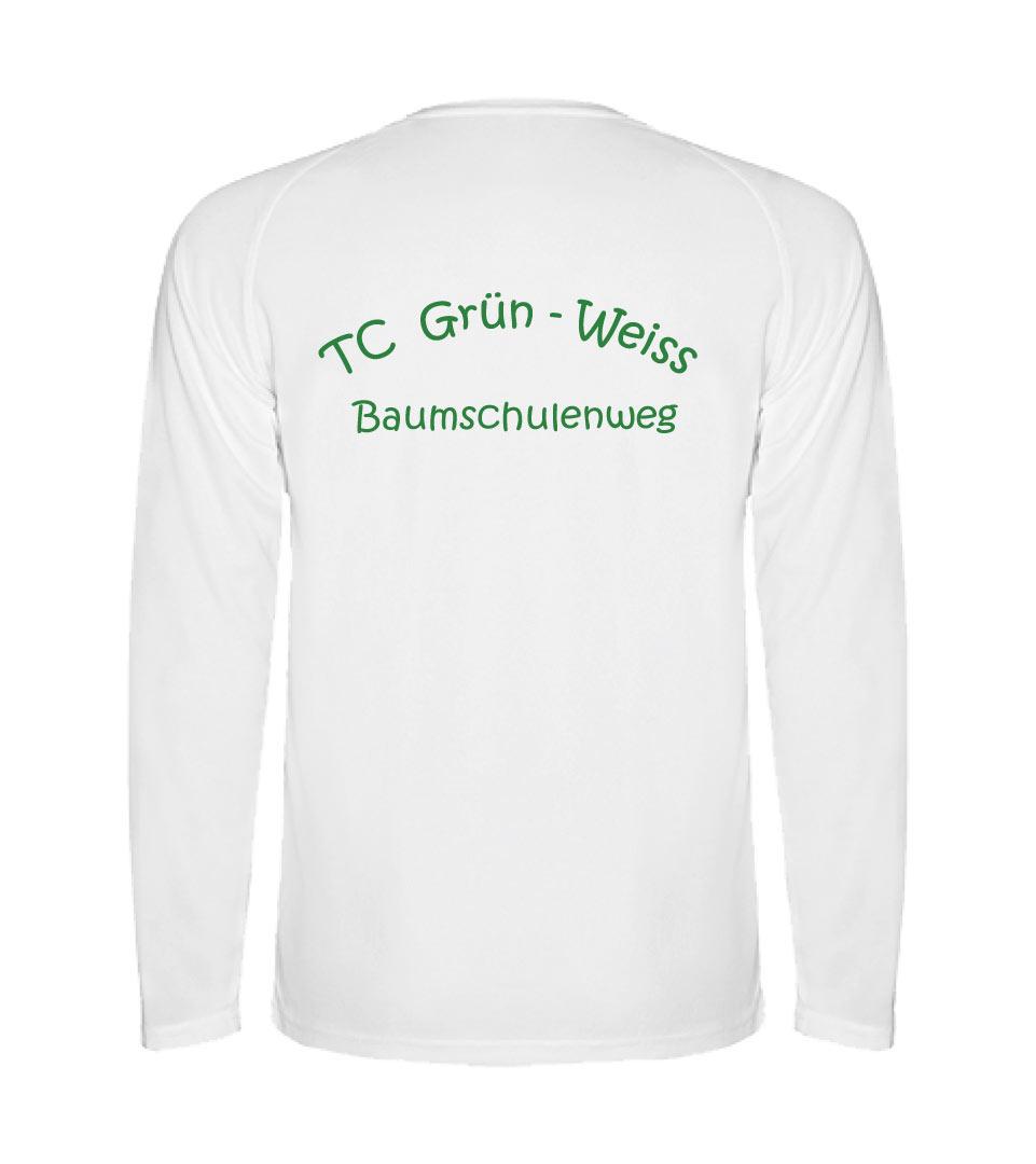 24) Langarmshirt, atmungsaktives Funktionsgewebe - Kinder - Rückseite