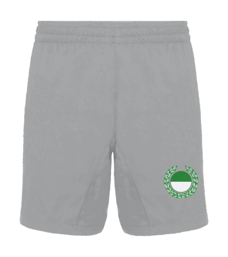 26) Jacke mit RV, atmungsaktives Baumwollgemisch Grün - Vorderseite